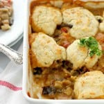 Vegetable Cobbler with Cheddar Biscuits