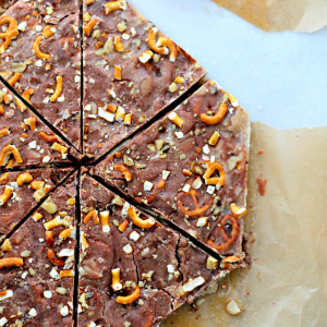 Coffee and Chocolate Almond Toffee