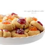 Raw-Sugar Thumbprint Cookies