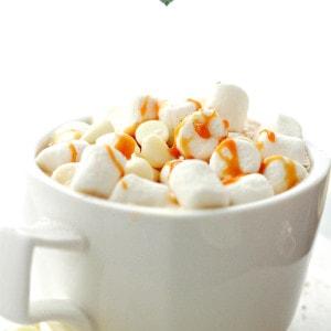 Vanilla Latte White Hot Chocolate + KitchenAid Stand Mixer Giveaway!