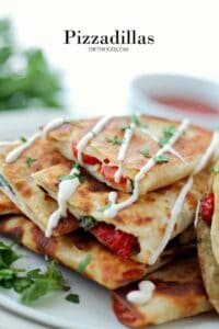 Pizzadillas | Quesadillas Meet Pizza - An Easy Party Food Appetizer Idea