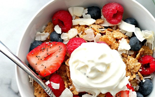 Yogurt Breakfast Bowl