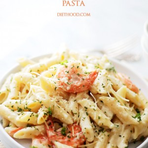 Creamy Lemon-Shrimp Pasta