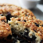 Lightened-Up Blueberry Coffee Cake