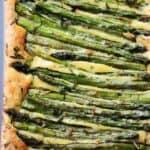 Cheesy Asparagus Frittata Recipe | Easy Asparagus Recipe