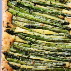 Cheesy Asparagus Frittata