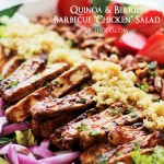 Quinoa and Berries Barbecue
