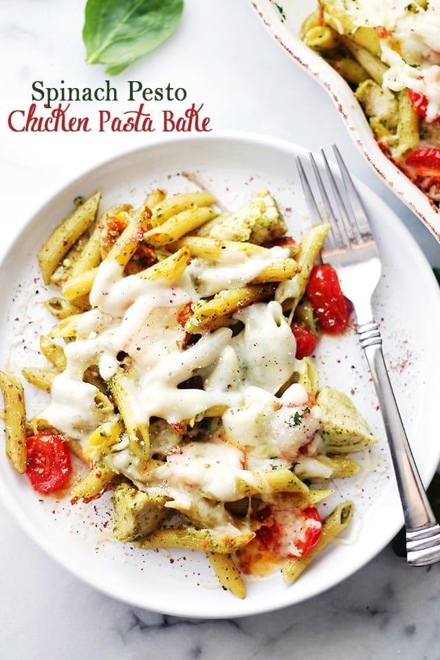 Creamy Pesto-Chicken Casserole Recipe — Dishmaps