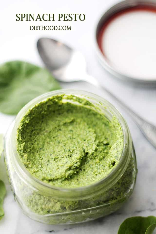 Spinach Pesto Recipe Diethood