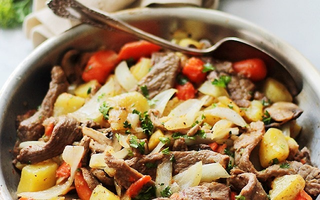 Steak and Potatoes Skillet