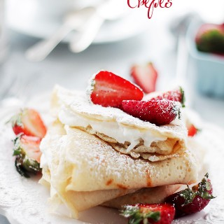 2 Ingredient Crepes {Macedonian-Style Crepes}