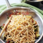 Broccoli and Sun-Dried Tomatoes Pasta