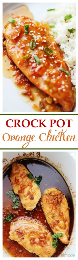 Crock Pot Orange Chicken Recipe | Easy Crock Pot Chicken Recipe