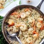Garlic Butter Shrimp and Rice