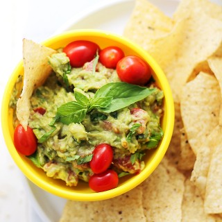 Basil Guacamole + Margaritas | How to Have a Fun and Healthy 'Girls' Night In'