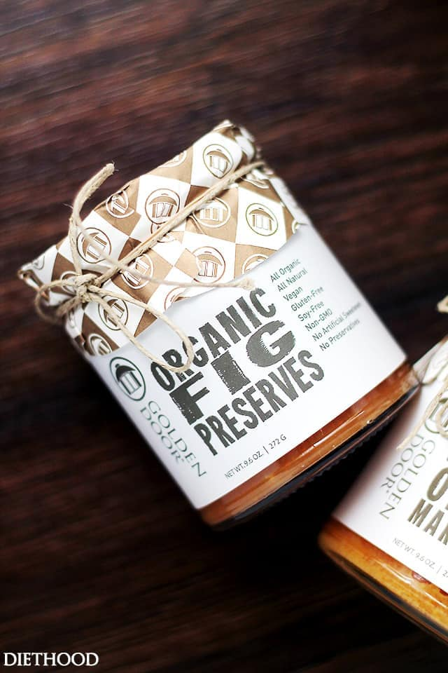 Fig Preserves by Golden Door
