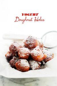 Yogurt Doughnut Holes + 8 Quick & Easy Homemade Doughnuts Recipes