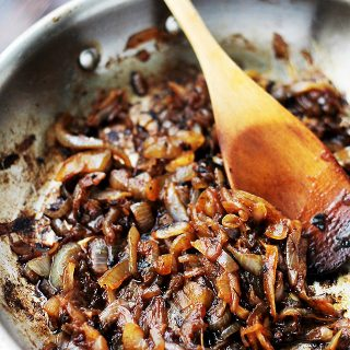 Balsamic Caramelized Onions