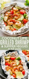 Coconut Lime Grilled Shrimp Pin Image