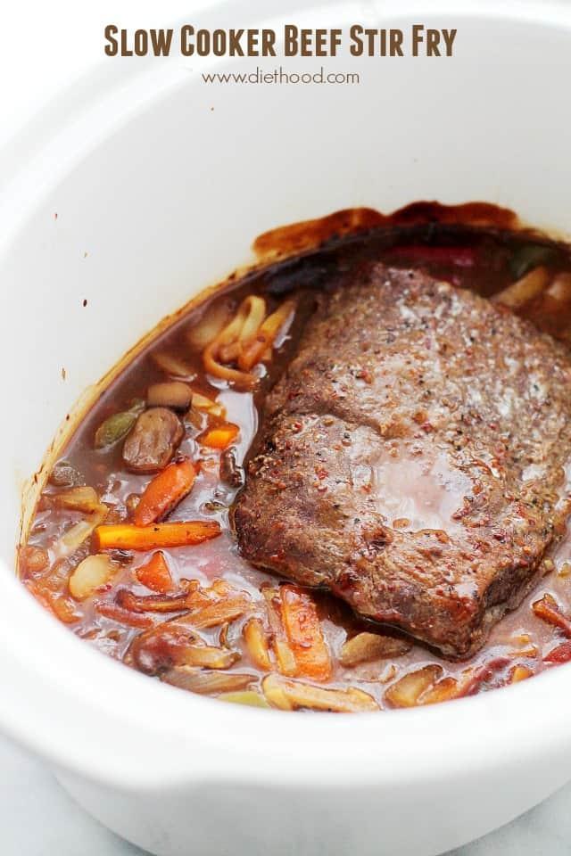 Slow Cooker Beef Stir Fry