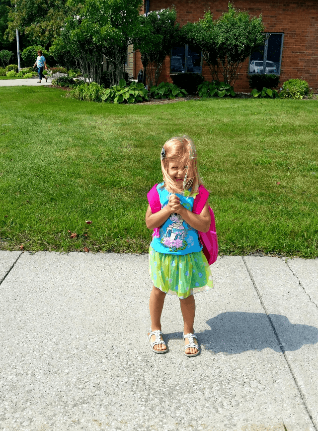 Aleksandra's First Day