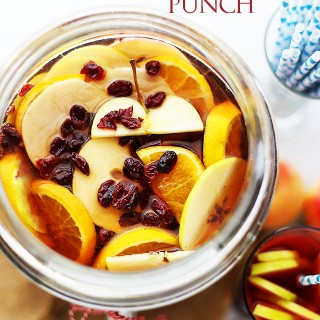 Cranberry Apple Cider Punch