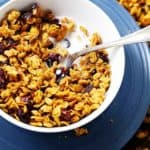 Homemade Pumpkin Granola Recipe | Easy Pumpkin Breakfast Recipe