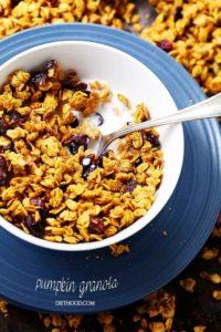 Homemade Pumpkin Granola Recipe | Easy Pumpkin Breakfast Recipe