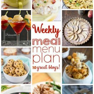 Weekly Meal Plan (Week 10)