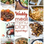 Weekly Meal Plan (Week 11)