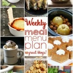 WEEKLY MEAL PLAN | www.diethood.com | 10 top bloggers bringing you 6 dinner recipes, 2 side dishes and 2 desserts to make a quick, easy, and delicious week!