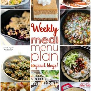 WEEKLY MEAL PLAN (WEEK #8)