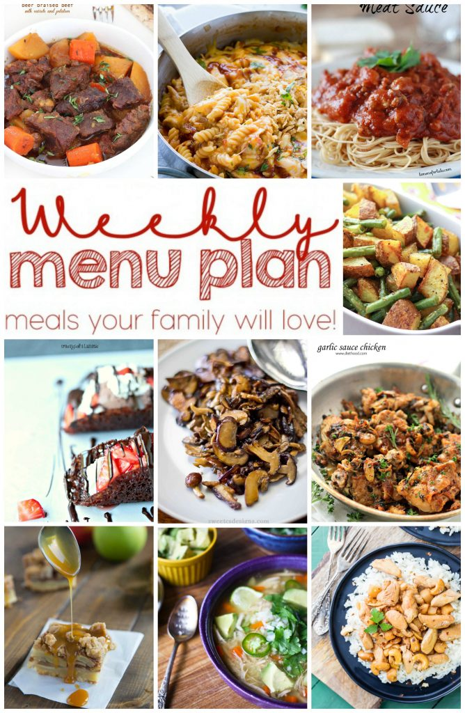 Pinterest Collage for Week 11 Weekly Meal Plan