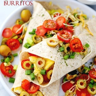 Breakfast Burritos + STAR Olives Giveaway!