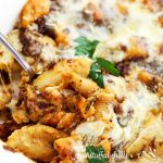 Unstuffed Shells with Butternut Squash and Tomato Pesto