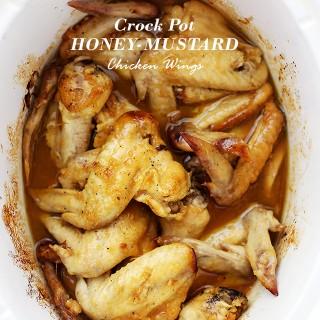 Crock Pot Honey Mustard Chicken Wings