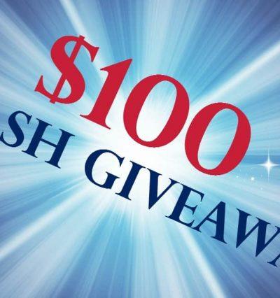 $100 Cash Giveaway | www.diethood.com
