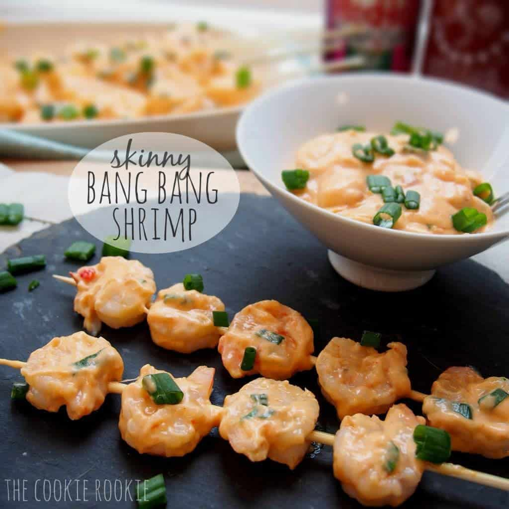 Skinny Bang Bang Shrimp from The Cookie Rookie