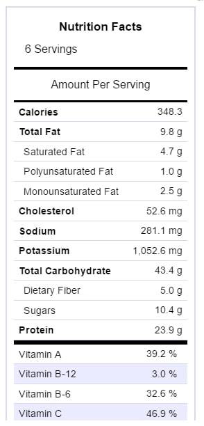 corn-chowder-nutritional-info