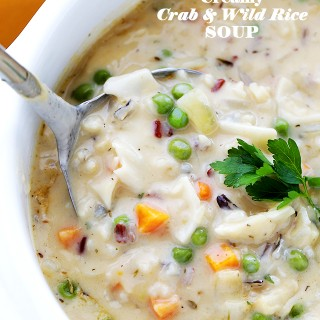Creamy Crab and Wild Rice Soup