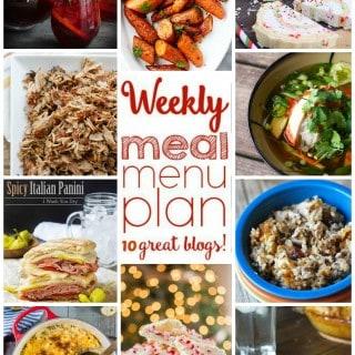 Weekly Meal Plan (Week 19)
