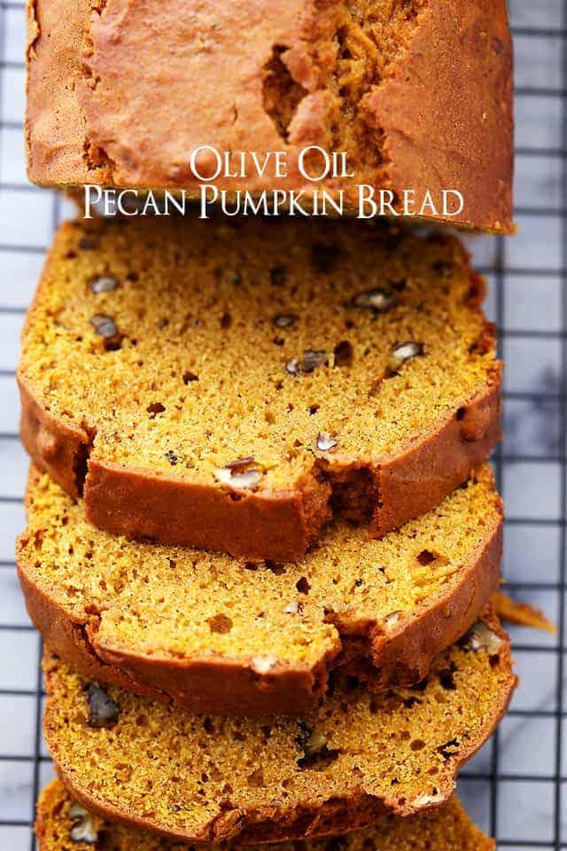 Olive Oil Pumpkin Bread Recipe Easy Pumpkin Recipe For Fall Baking