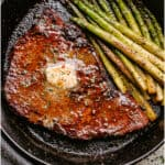 Oven Grilled Steak
