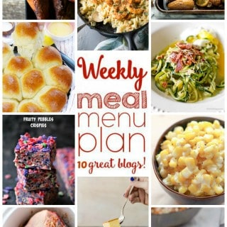 WEEKLY MEAL PLAN (WEEK 18)