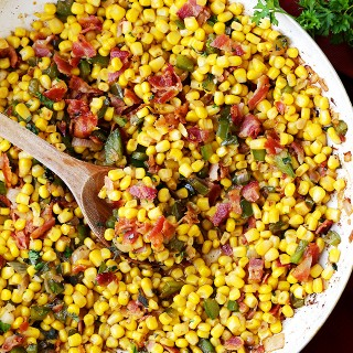 Bacon and Corn Skillet Recipe