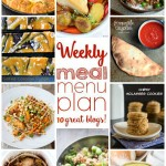 Weekly Meal Plan Week 21 - 10 great bloggers bringing you a full week of recipes including dinner, sides dishes, and desserts!