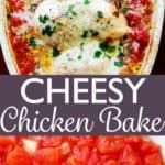 Chicken Bake with Cheese Pin Image