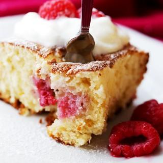 Raspberry Cream Cheese Coffee Cake Recipe