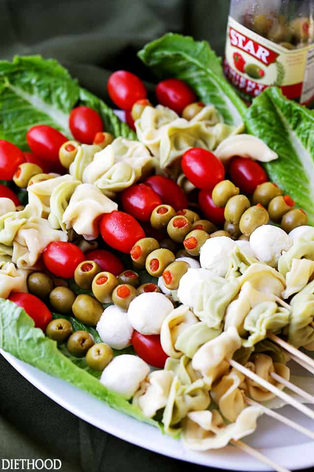 tortellini skewers with olives tomatoes and cheese recipe just another manic monday meaning just another manic monday übersetzung