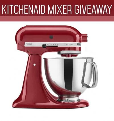 kitchenain mixer giveaway